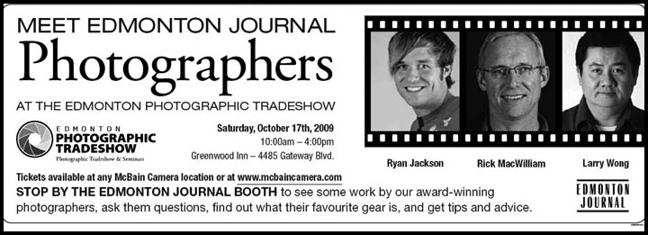 edmonton photographic trade show 2009