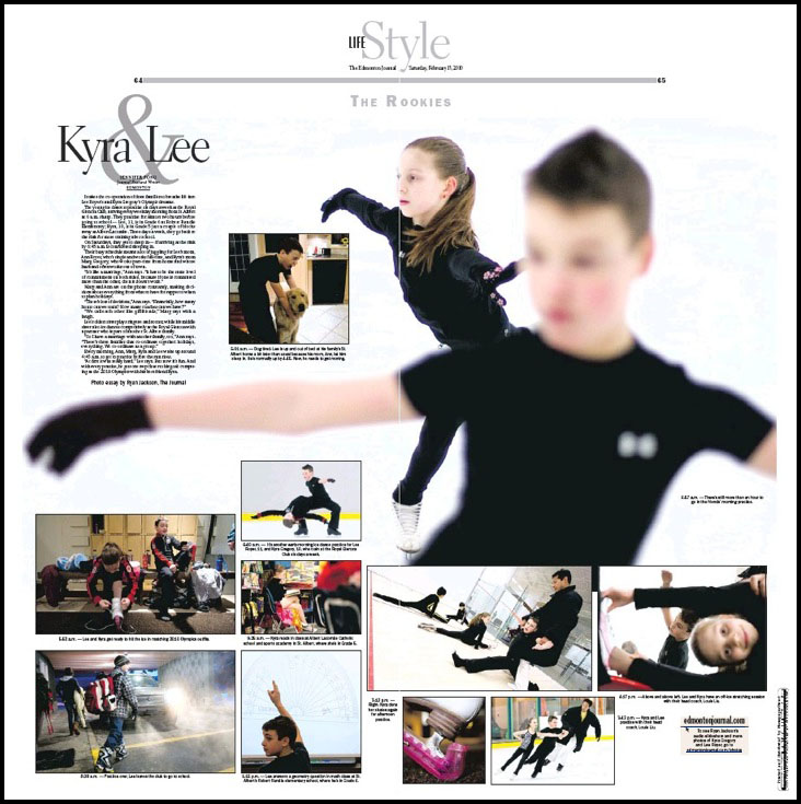 Lee and Kyra layout