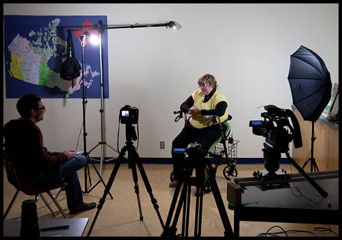 ... lighting setup for the main interview. For ... & The best video story Iu0027ve done this year! u2013 Susan the brain-injured ...