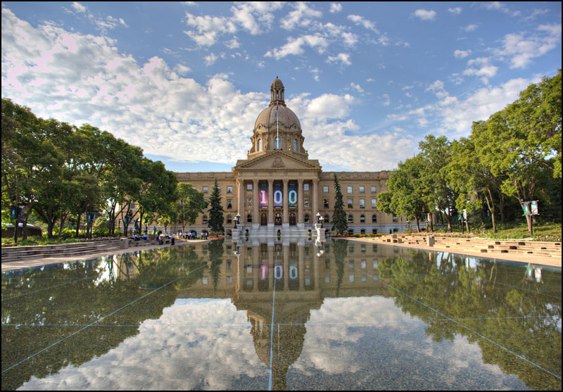 how to get to the legislature edmonton