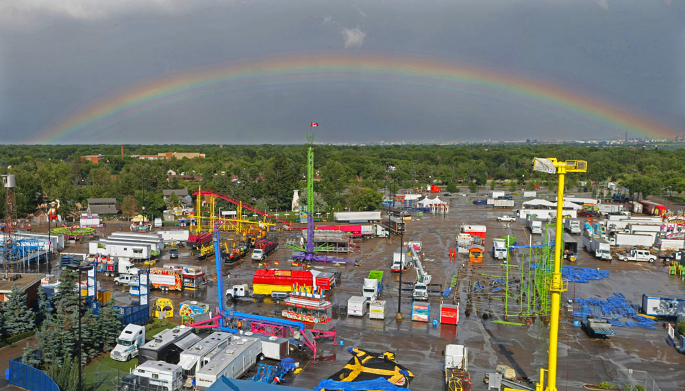 EDMONTON, ALTA.:      JULY, 18, 2012: —Capital Ex: Watch a live timelapse of the fair as it is set up Are you excited for Capital Ex? Watch a timelapse of the fair being set up in real time. Edmonton Journal multimedia photojournalist Ryan Jackson has
