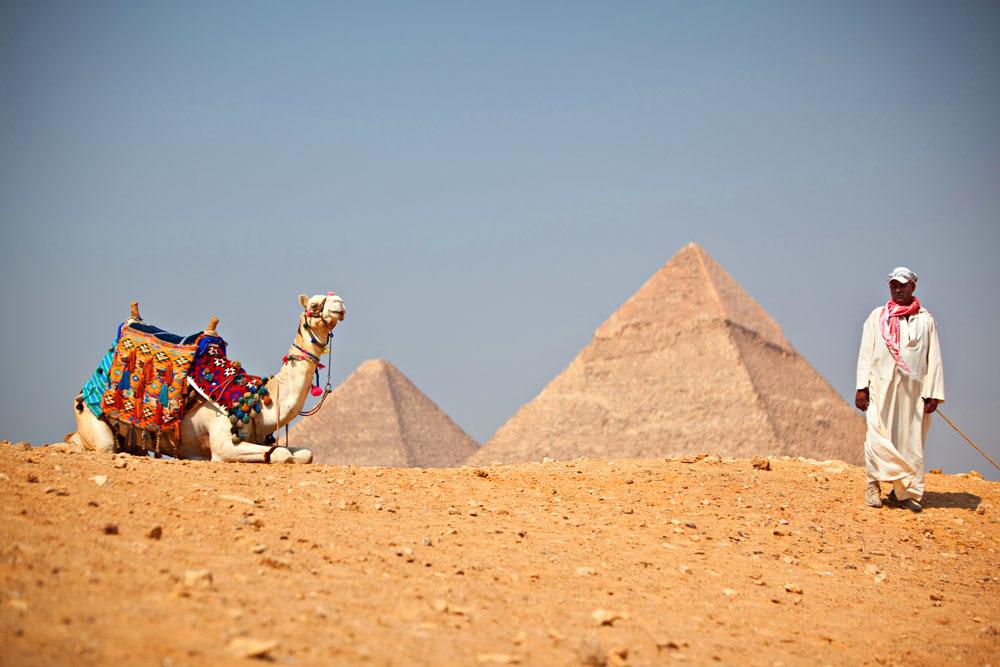 Pyramids of Giza. 2011.