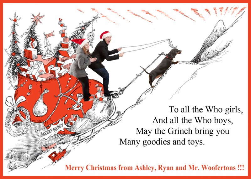 Christmas Grinch Jackson Postcard Photo 2012 IMG_0280