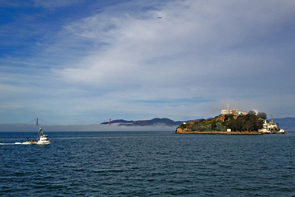 Alcatraz in San Francisco, CA.  2011.