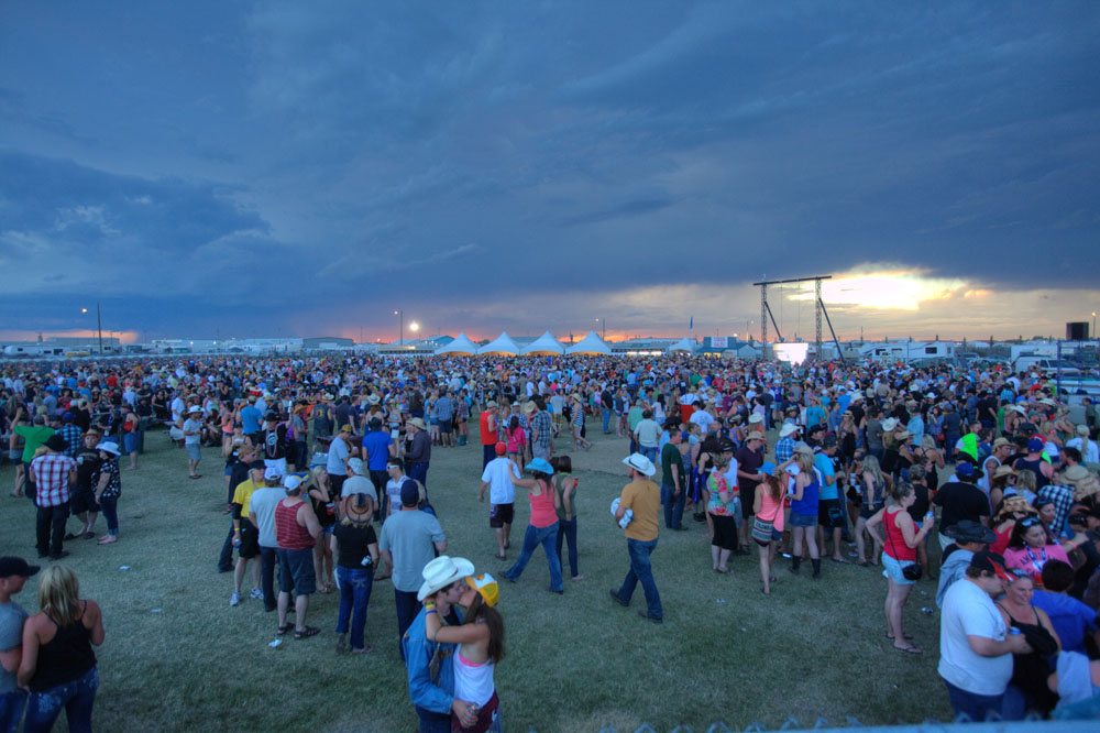 CAMROSE, ALTA.: AUGUST, 4, 2012: — at the Big Valley Jamboree in Camrose, Alta. on August 4, 2012. (Ryan Jackson / Edmonton Journal)
