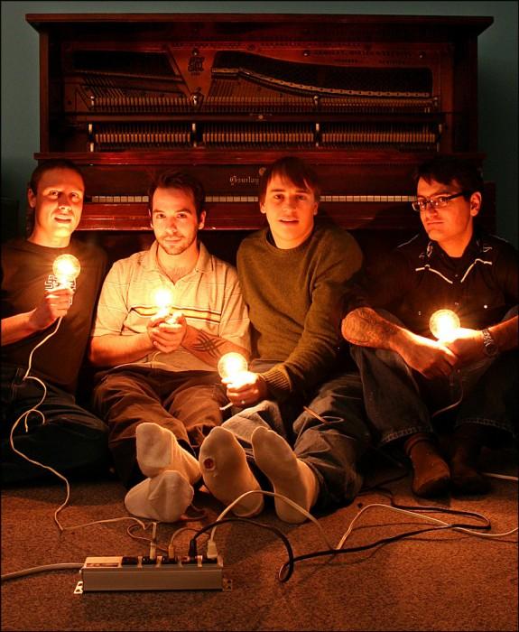 Saskatoon piano rock band The Pinch.