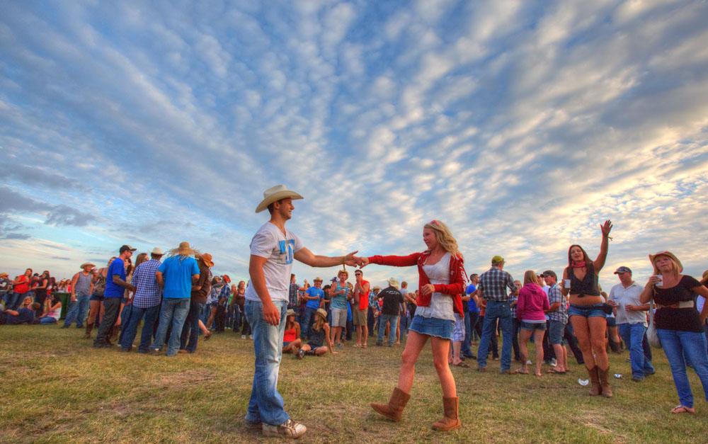CAMROSE, ALTA.: AUGUST, 3, 2012: — at the Big Valley Jamboree in Camrose, Alta. on August 3, 2012. (Ryan Jackson / Edmonton Journal)